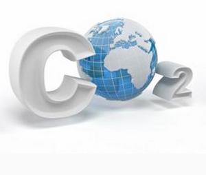 CO2 ist für die Atmung genauso wichtig wie O2. Ein Bild das CO2 und eine Weltkugel zeigt, die den Buchstaben O beim CO2 bildet