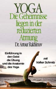 Das Cover des Buches über die Buteyko Methode und Yoga von Volker Schmitz und Artour Rakhimov