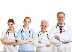 Lächelnde Ärzte