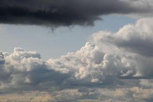 Ein Wolkenbild