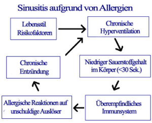 Sinusitis-Allergie-Ursache